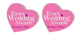 Essex Wedding Awards Winner 2013 & 2014