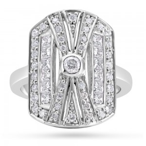 18ct Gold Art Deco Diamond