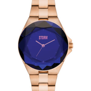 Storm Watch Crystana Rose Gold and Blue