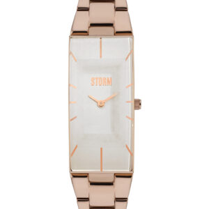 Storm Ixia Watch Rose Gold and White
