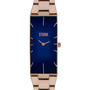 Storm Ixia Watch Rose Gold and Blue