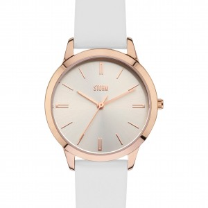 Storm Warch Netty Rose Gold & White