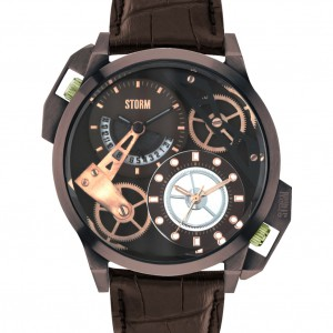 Storm Watch Dualon Brown Leather