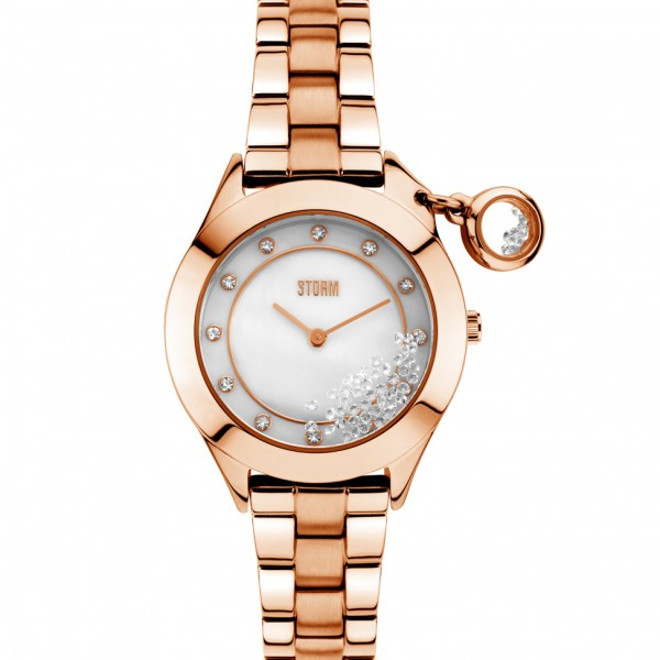 Storm Watch Sparkelli Rose Gold