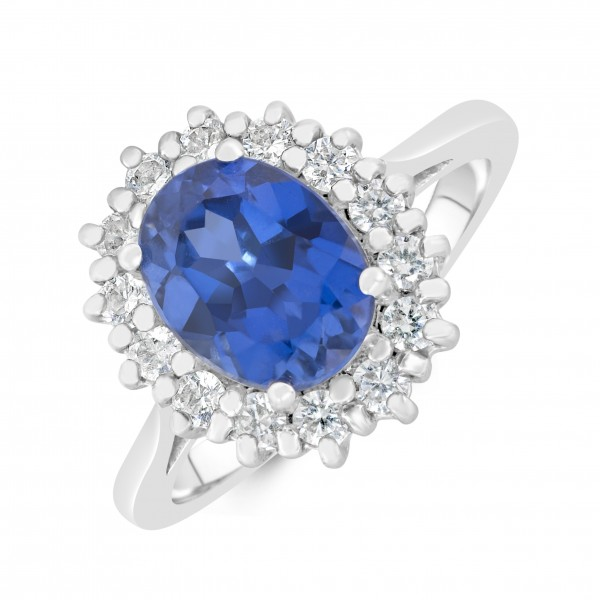 Bespoke Sapphire and Diamond ring