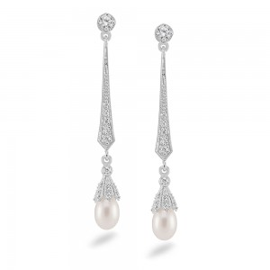C005E_silver_earring_pearl_cz