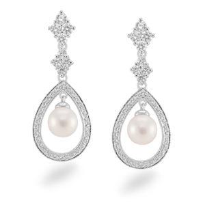 C007E_silver_earring_cz_pearl