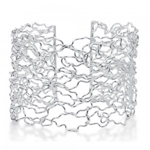 Wire Silver Bracelet