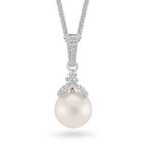 Sterling Silver Freshwater Pearl Drop Pendant