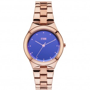Storm Watch Amella Rose Gold Blue