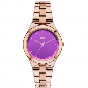 Storm Watch Amella Rose Gold Purple